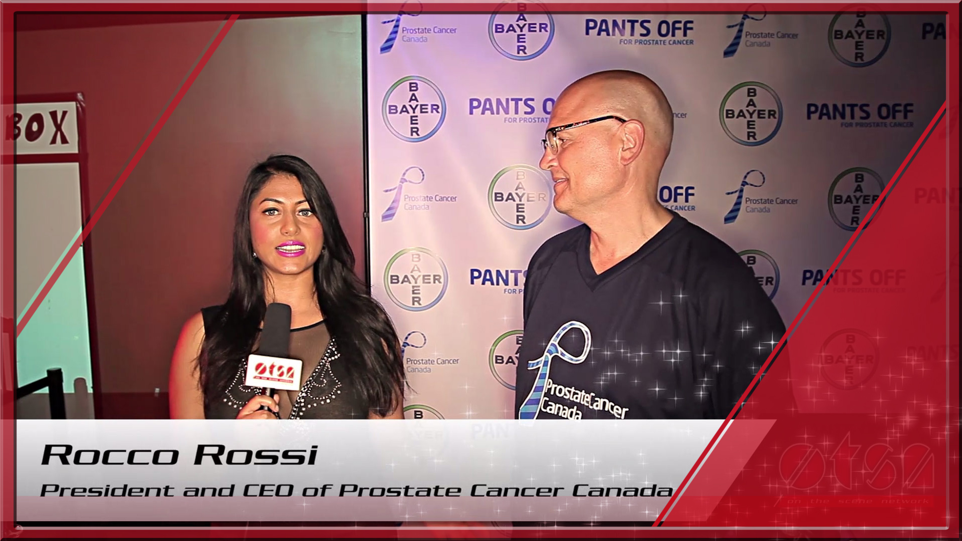 Pants Off For Prostate Cancer 2014 with Jayna Hefford and Rocco Rossi