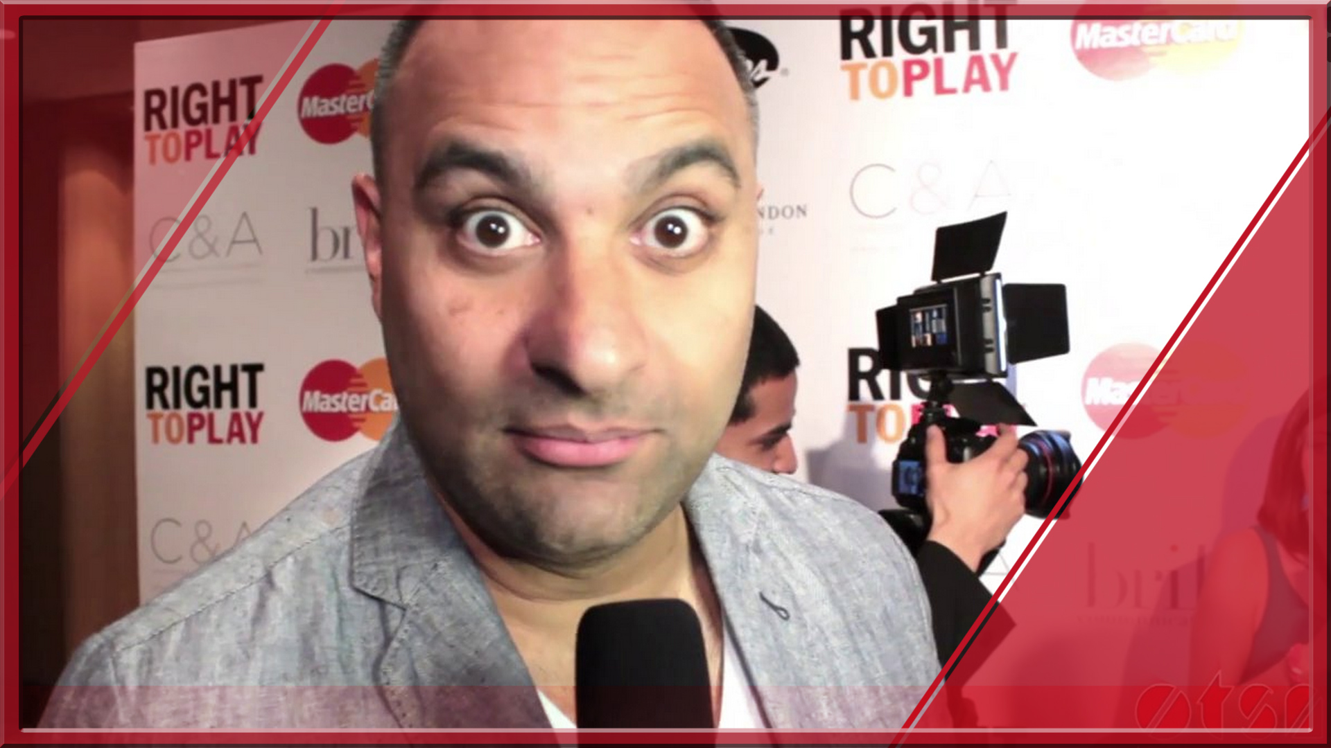 Russell Peters @ the Right To Play Ball 2014 hosted by Glen Baxter.