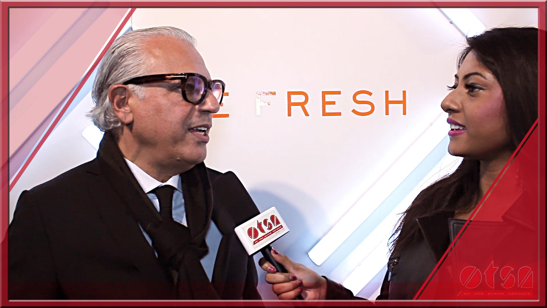 2014 World MasterCard Fashion Week with Joe Mimran and Jully Black