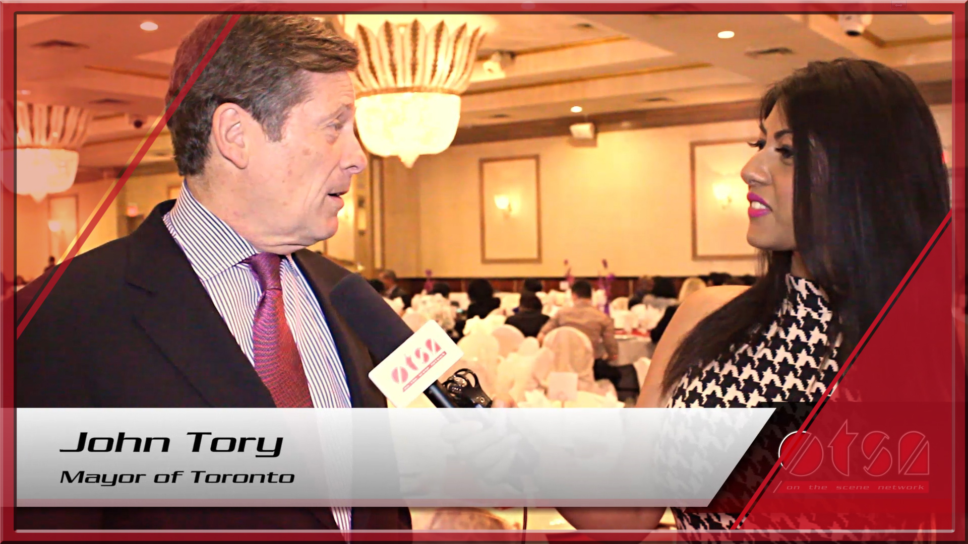 """Student Success Fundraiser in support of Trust 15 with John Tory and Michael """"Pinball"""" Clemons"""