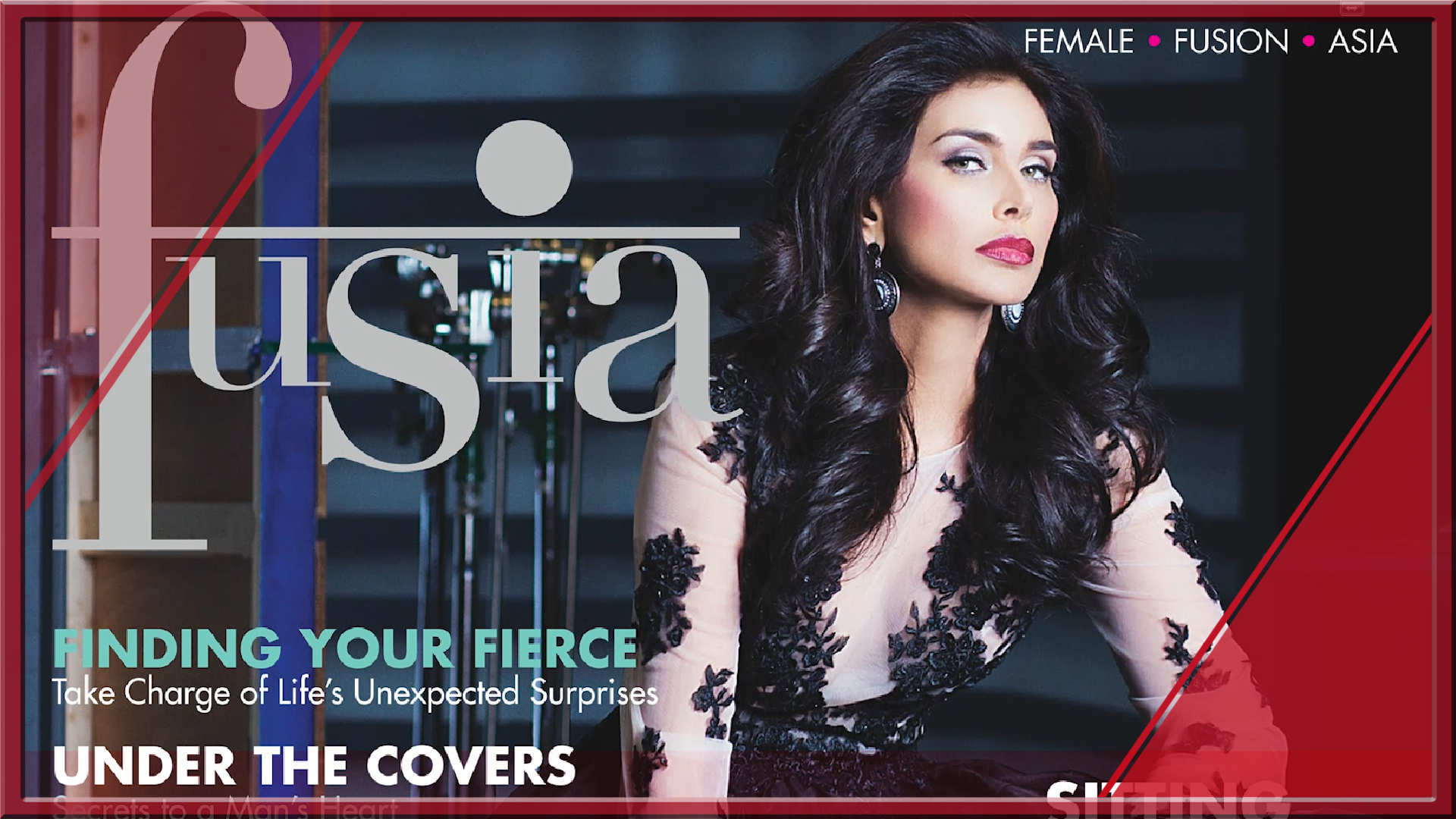 Fusia Fete 2015 with Lisa Ray