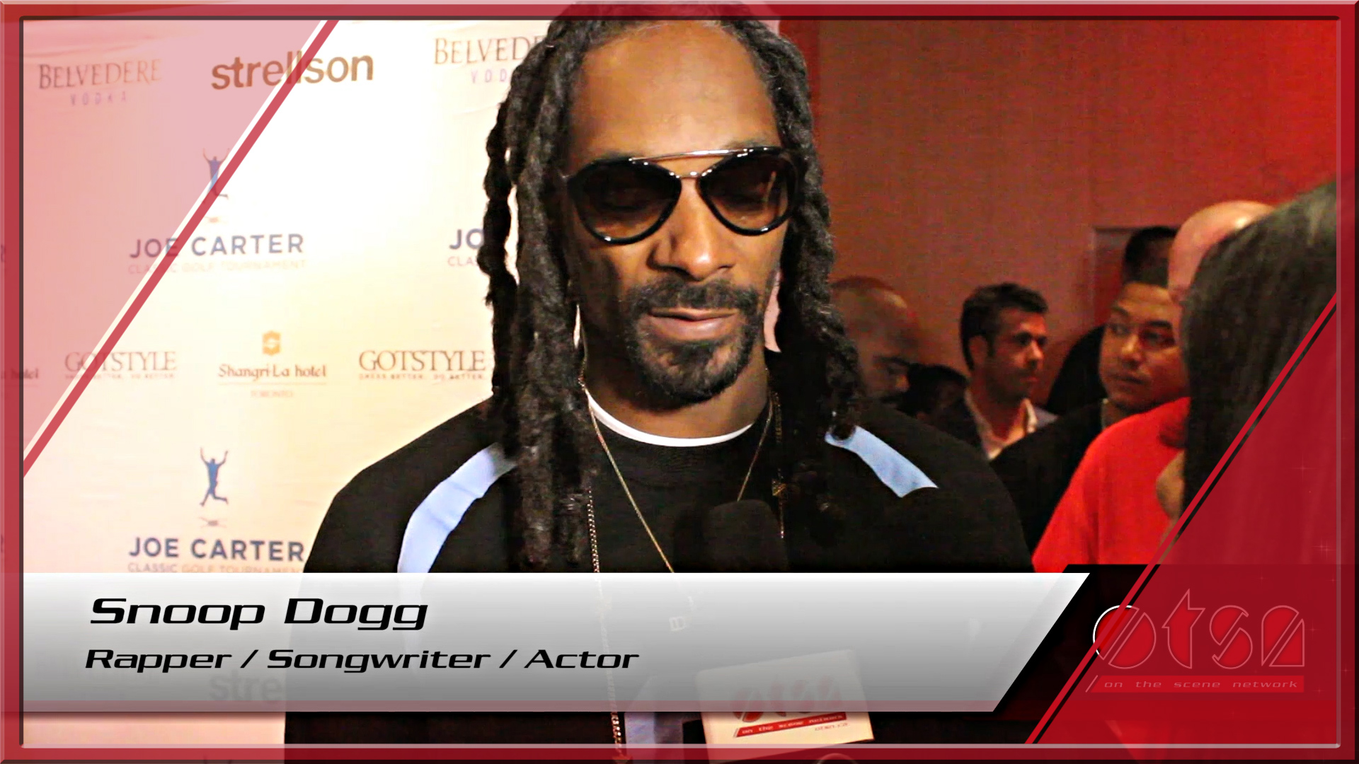Joe Carter Classic 2015 afterparty with Snoop Dogg