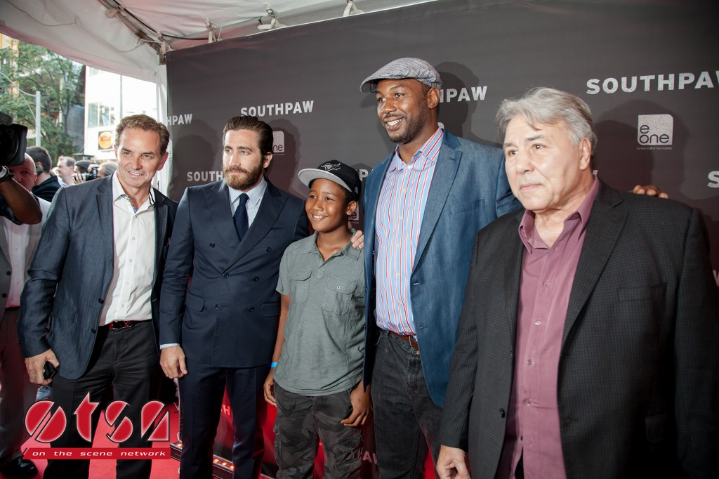 OTSN at the Canadian premiere of SOUTHPAW