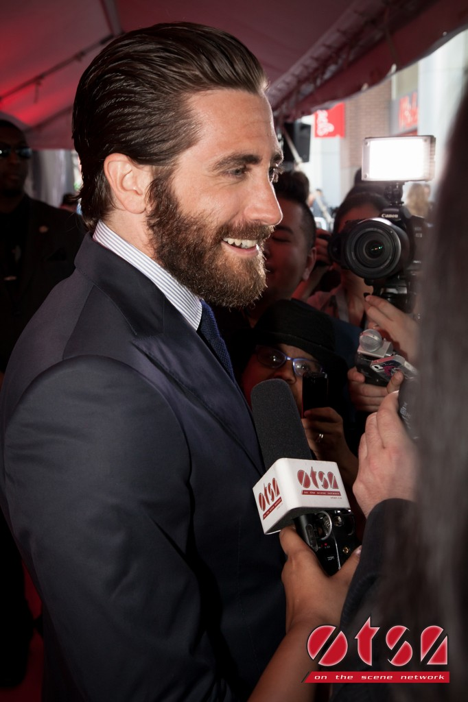 Jake Gyllenhaal at the Canadian premiere of SOUTHPAW