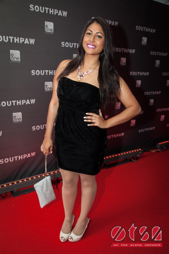 OTSN host Darriel Roy at the launch of SOUTHPAW