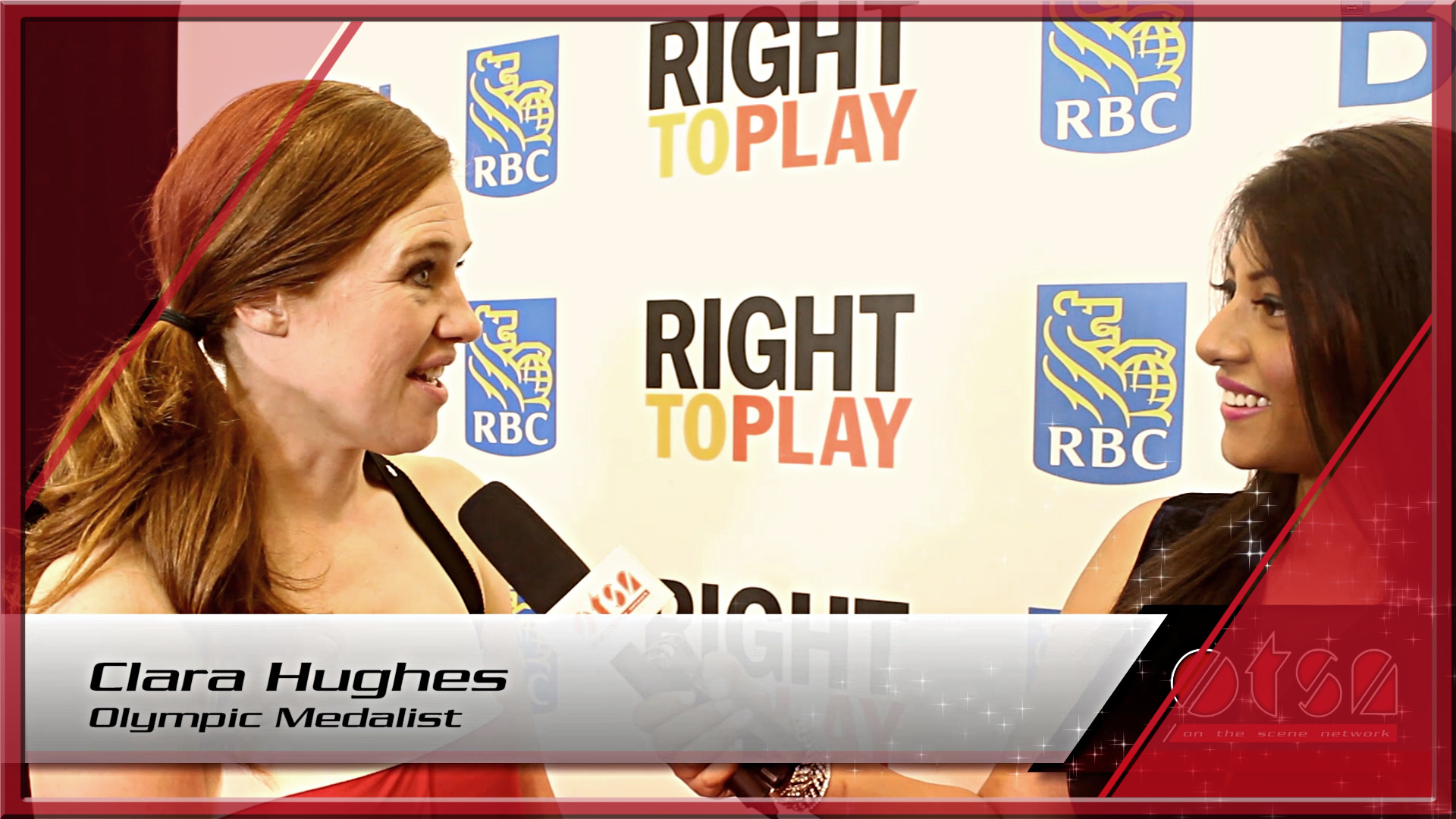 Right To Play Tribute Dinner 2015 honoring Clara Hughes and George Cope