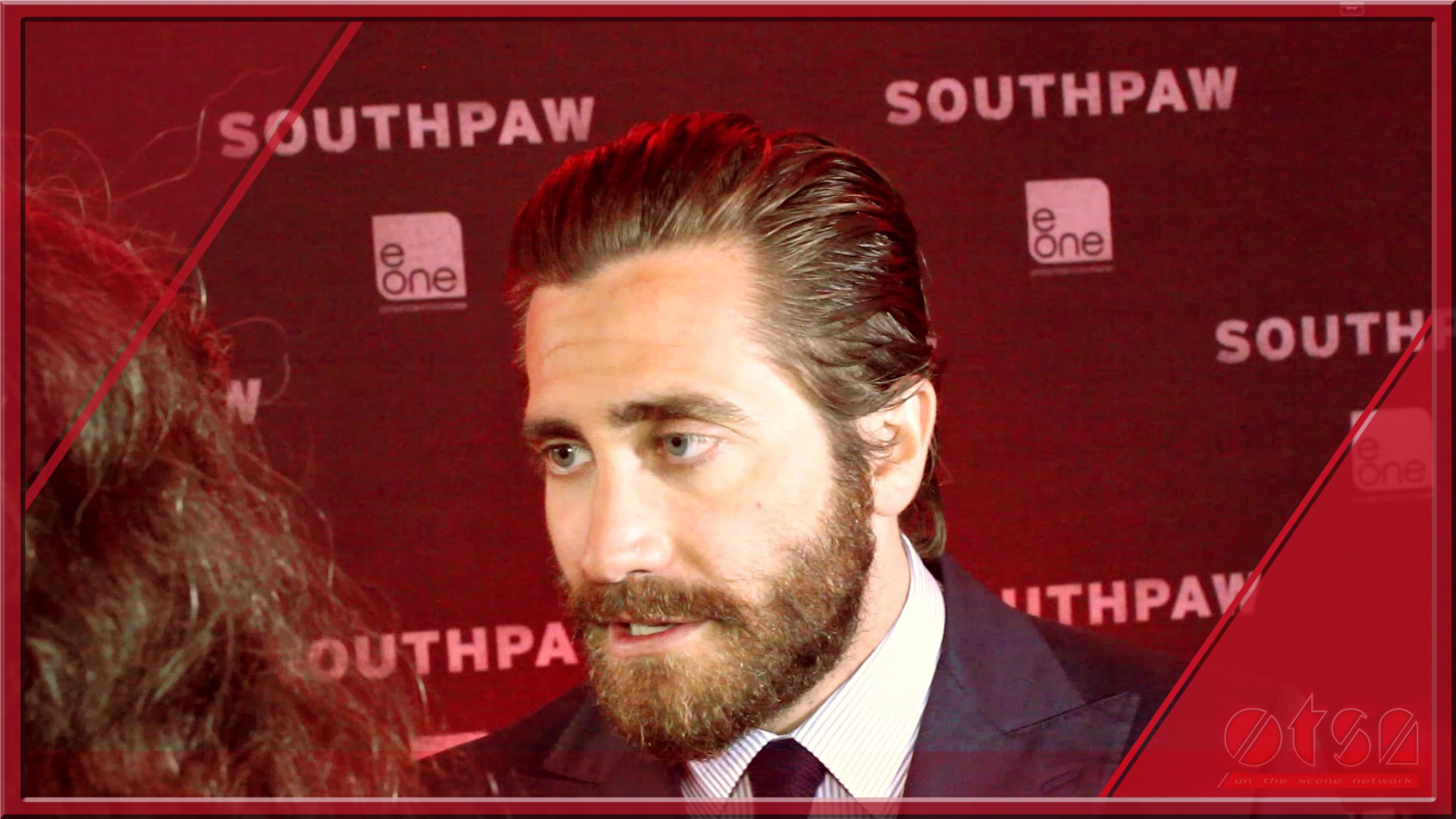 Southpaw Premiere with Jake Gyllenhaal and Rachel McAdams