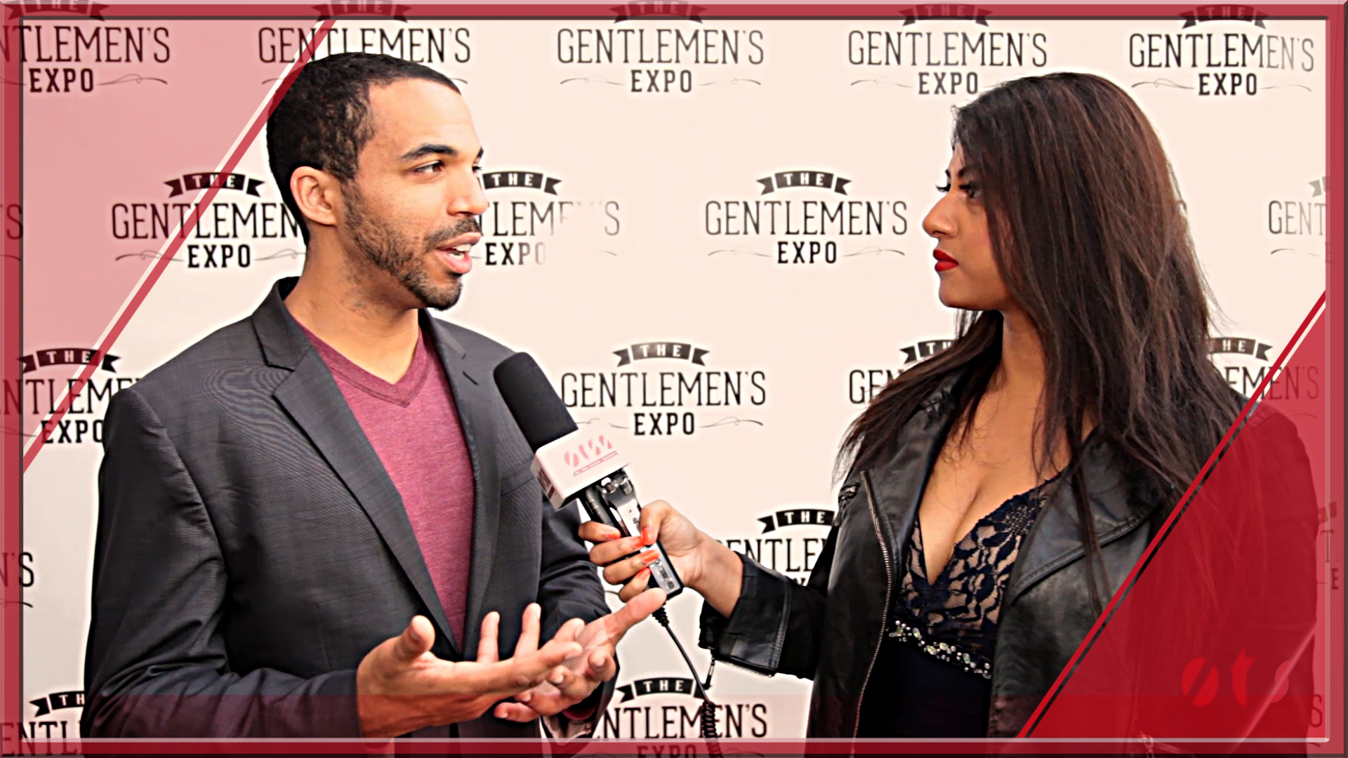 The Gentlemen's Expo 2015 with Chris Jones