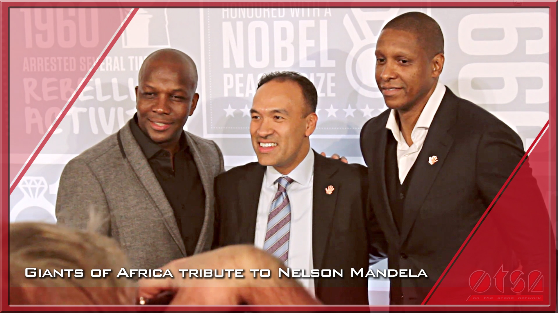 Giants of Africa special tribute event to Nelson Mandela