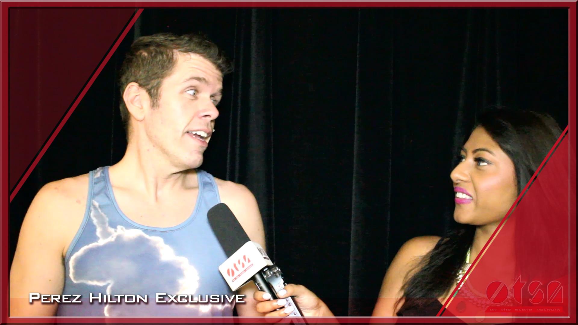 Perez Hilton Exclusive Interview