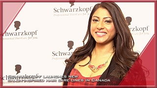 Schwarzkopf launches new salon-inspired hair care lines in Canada