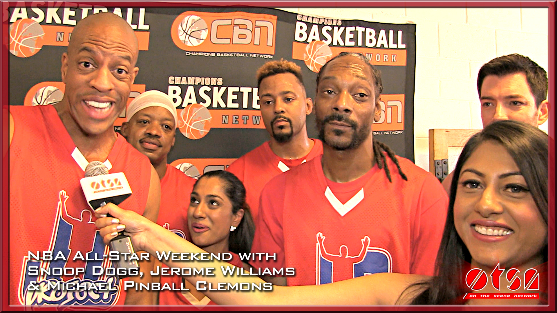 NBA All-Star Weekend with Snoop Dogg and Jerome Williams