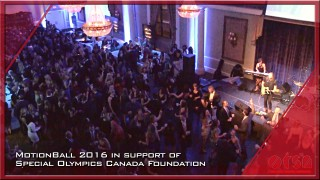 MotionBall 2016 in support of Special Olympics Canada Foundation