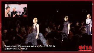 Toronto Fashion Week Fall 2016 Stephan Caras