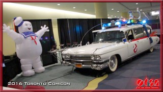 Comicon 2016 in Toronto with Karen Allen and Casper Van Dien