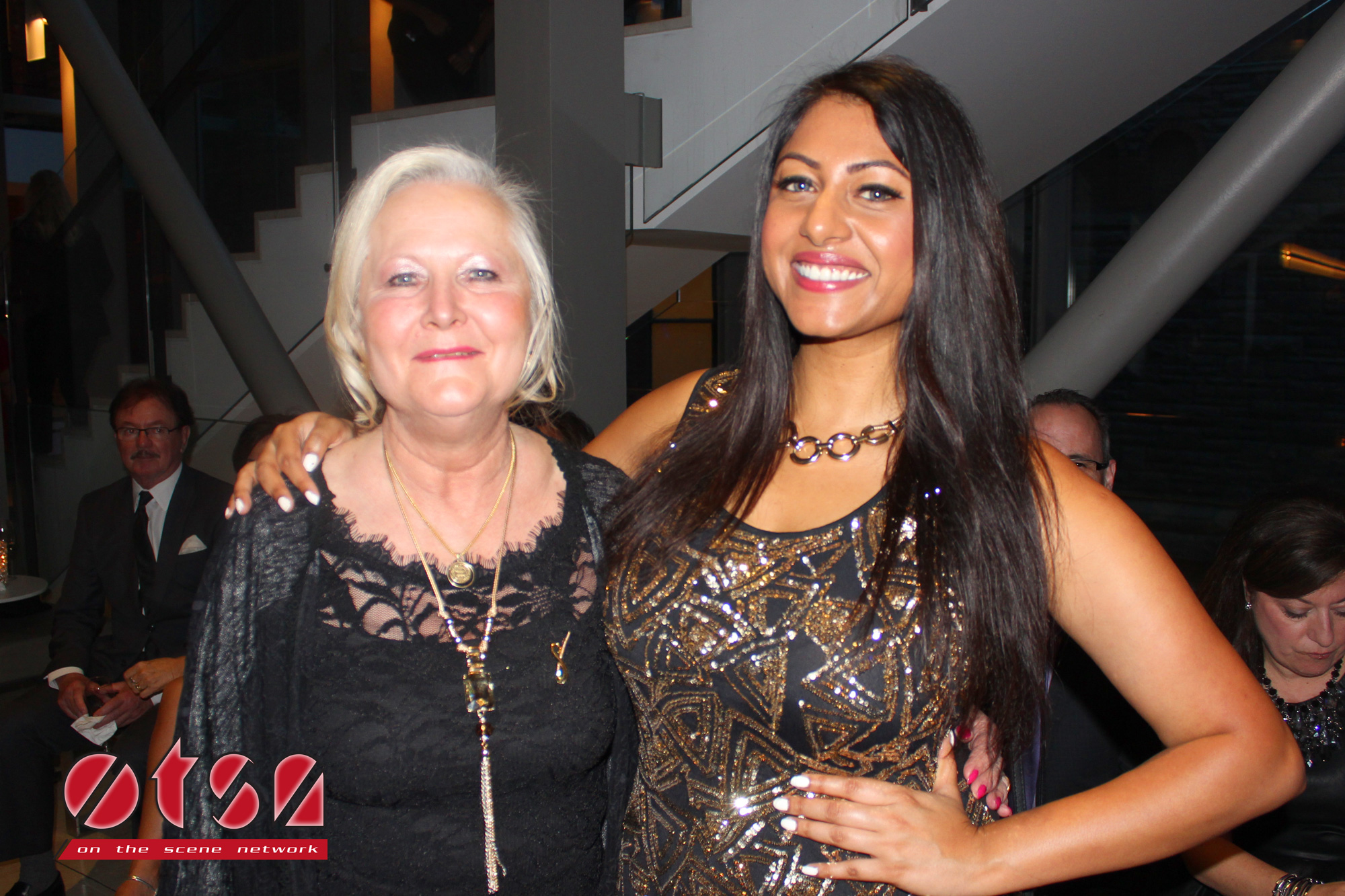 Co-Founder and Sheena's mother Lynn Carpenter with OTSN host Darriel Roy