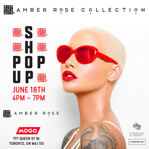 Amber Rose Collection Pop Up Shop in time for MMVAs 2016