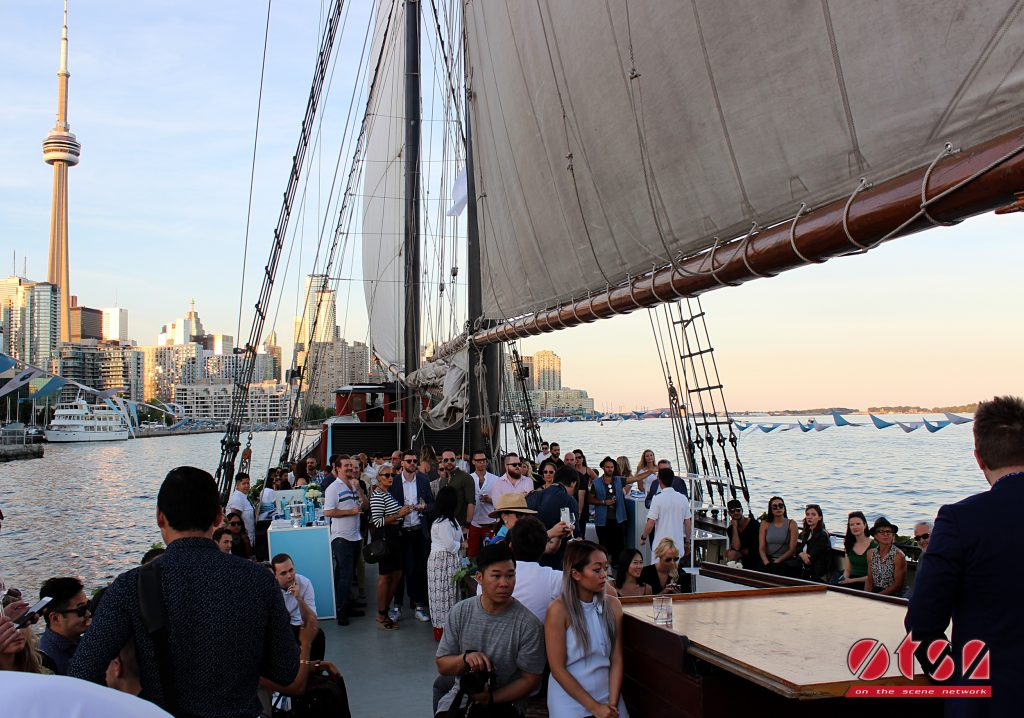 Star of Bombay Gin - Canadian Launch on the Tall Ship Kajama