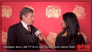 Dragon Ball 2017 celebrating Chinese New Year with John Tory