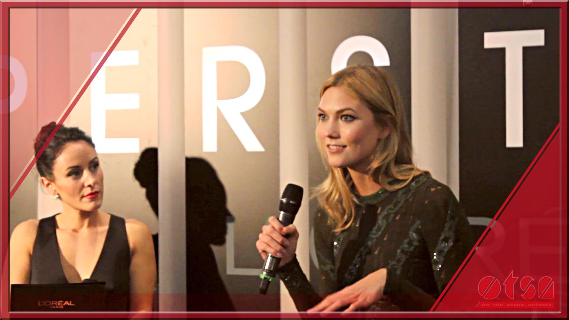 L'Oréal Paris TIFF kick-off with Karlie Kloss